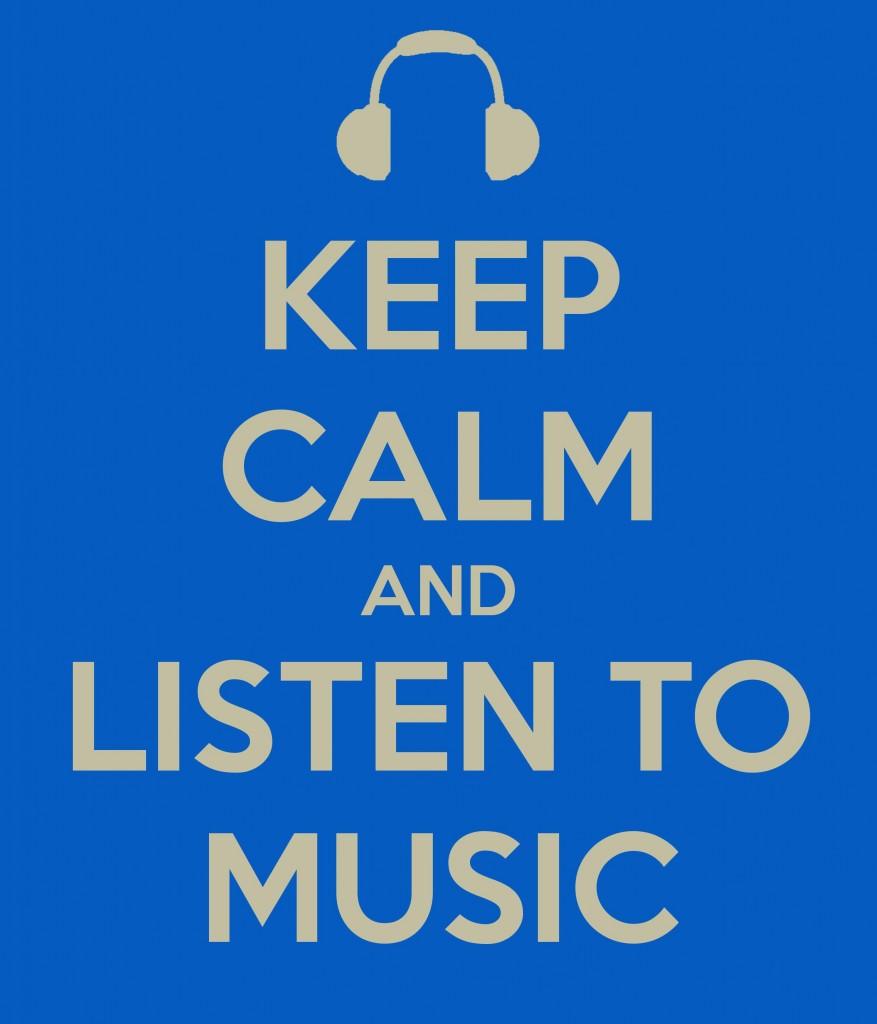 آرام باش و موسیقی گوش کن