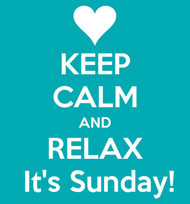 آرام باش و آرام! امروز یکشنبه است