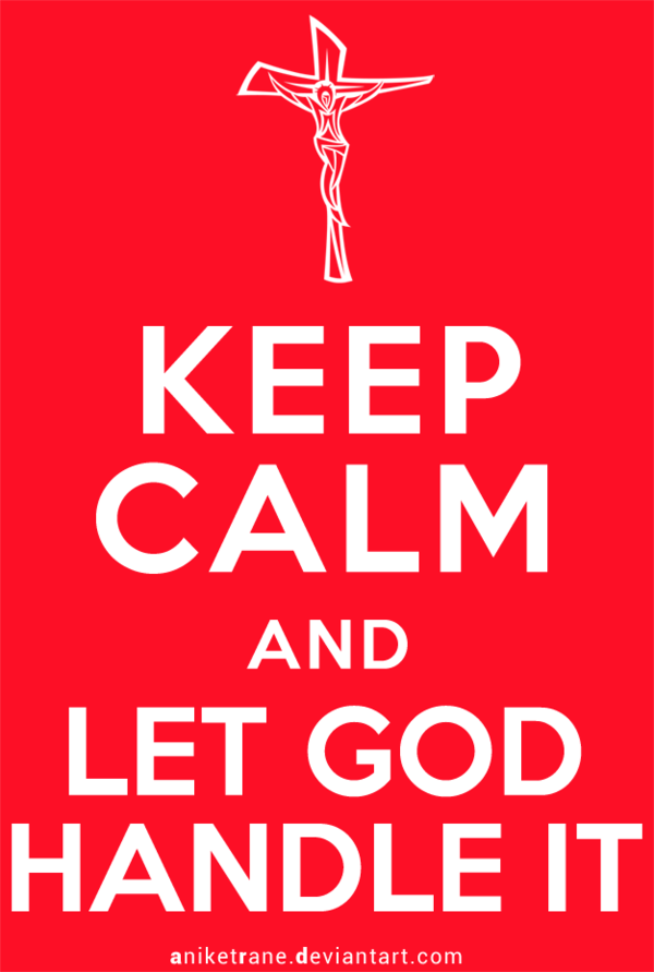آرام باش و به خدا بسپار