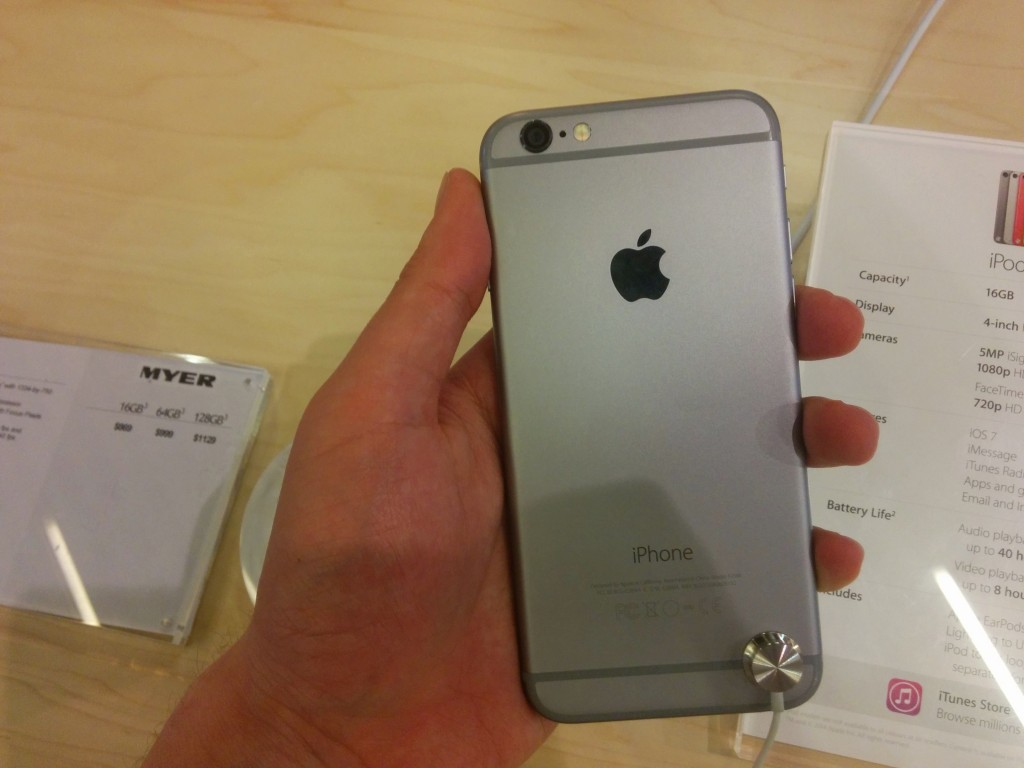 iPhone 6 back