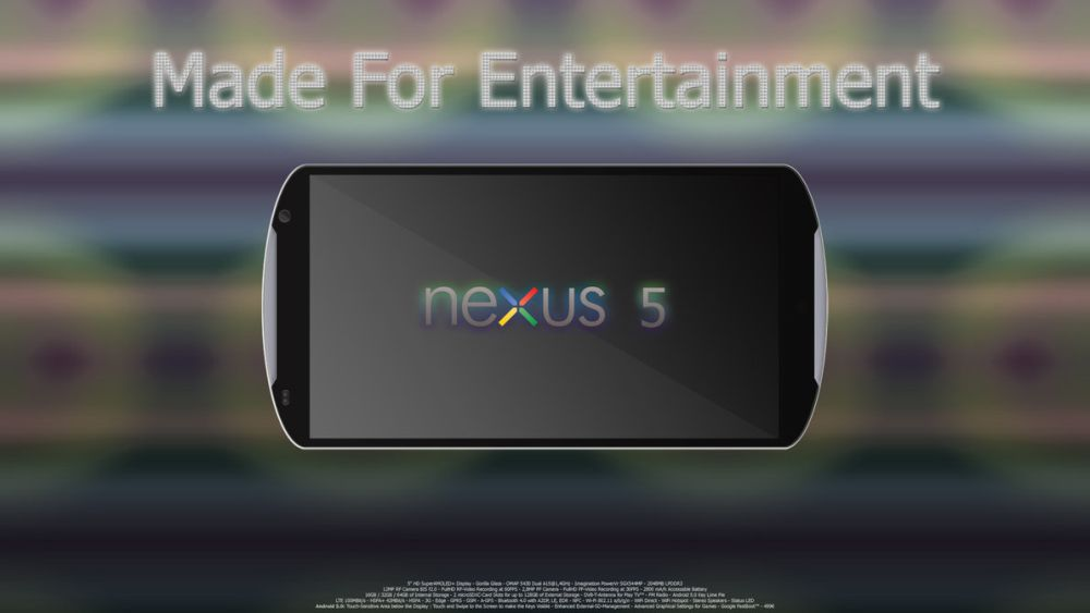 گوگل نکسوس 5