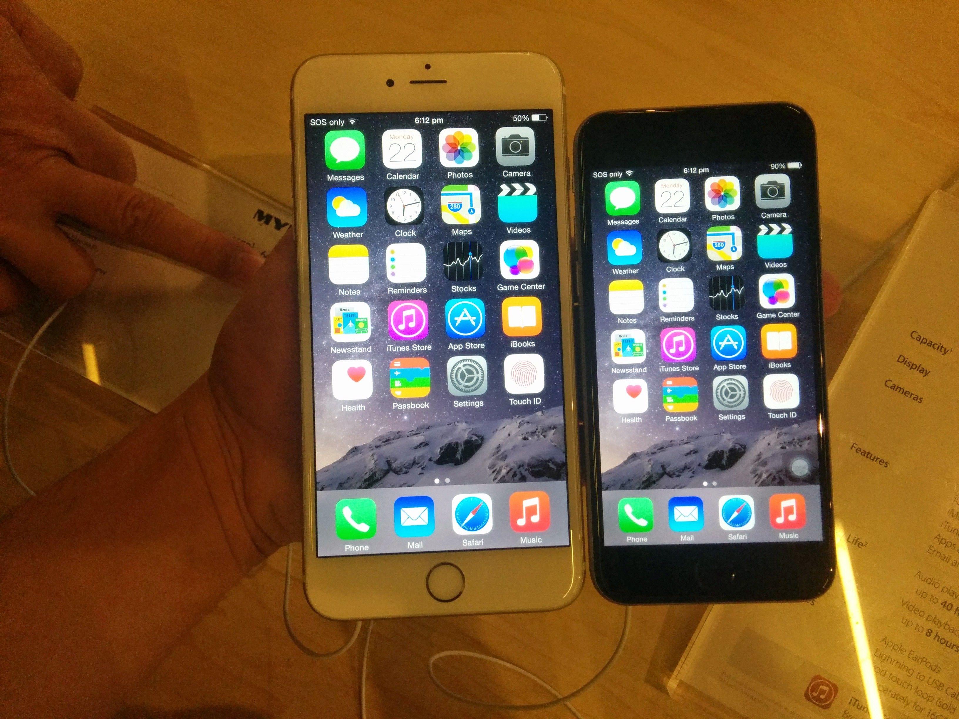 iPhone 6 Plus vs iPhone 6